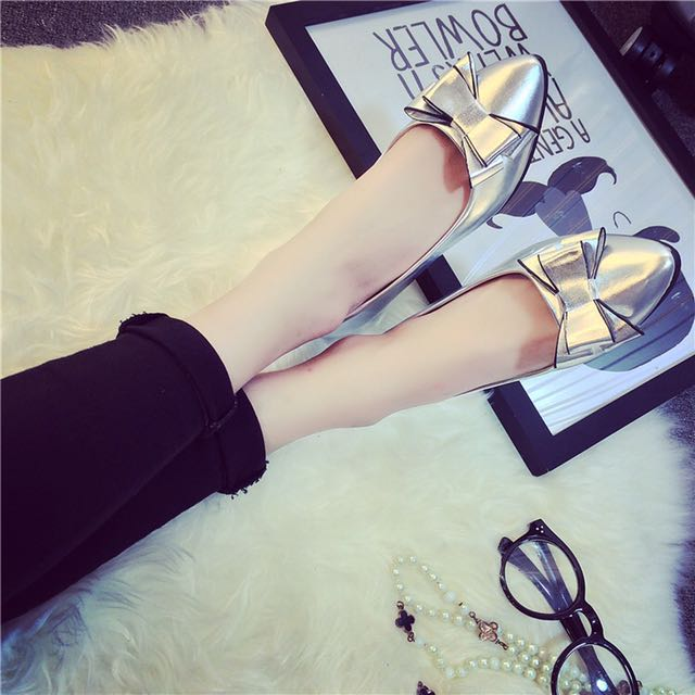 Fashion Bow-knot Flat Shoes