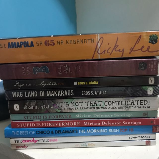 Filipino Authors For Only 50 Each