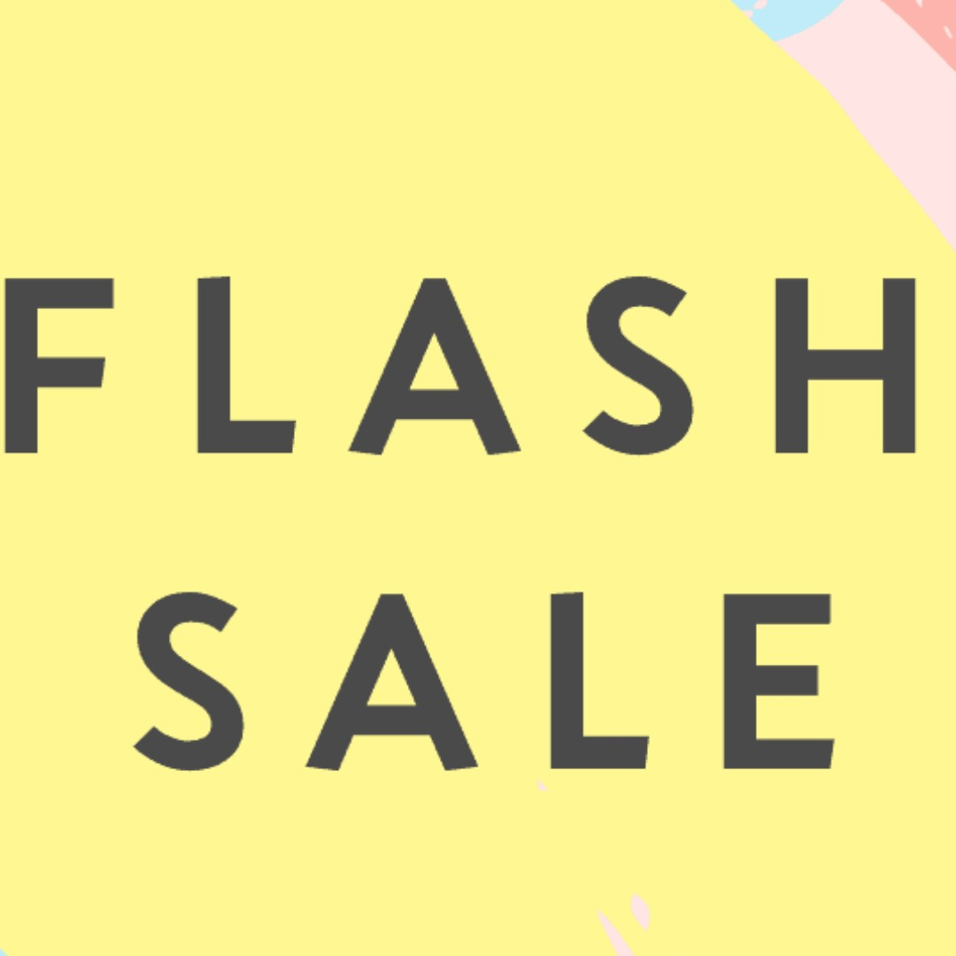 Flash Sale For 24 Hours