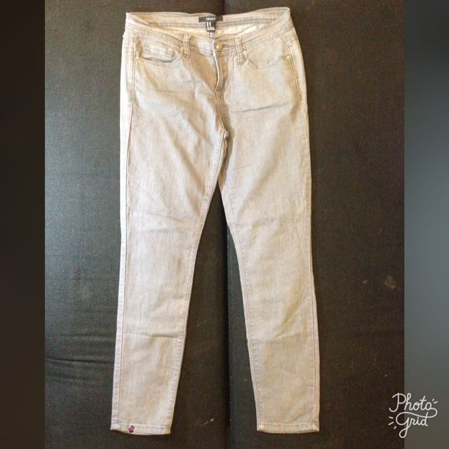 Forever 21 Gray Jeans Womens Size 28