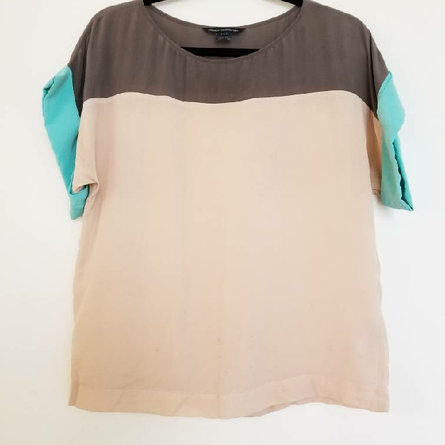 French Connection Silk Top  - XS