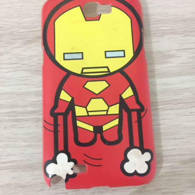 Hard Case Samsung Galaxy Note 2 Iron Man Edition