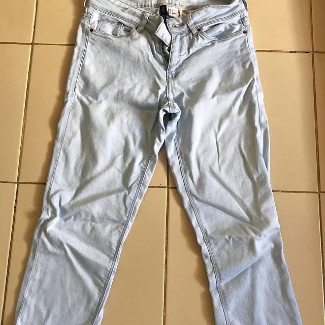 H&M Stretch Fade Pants