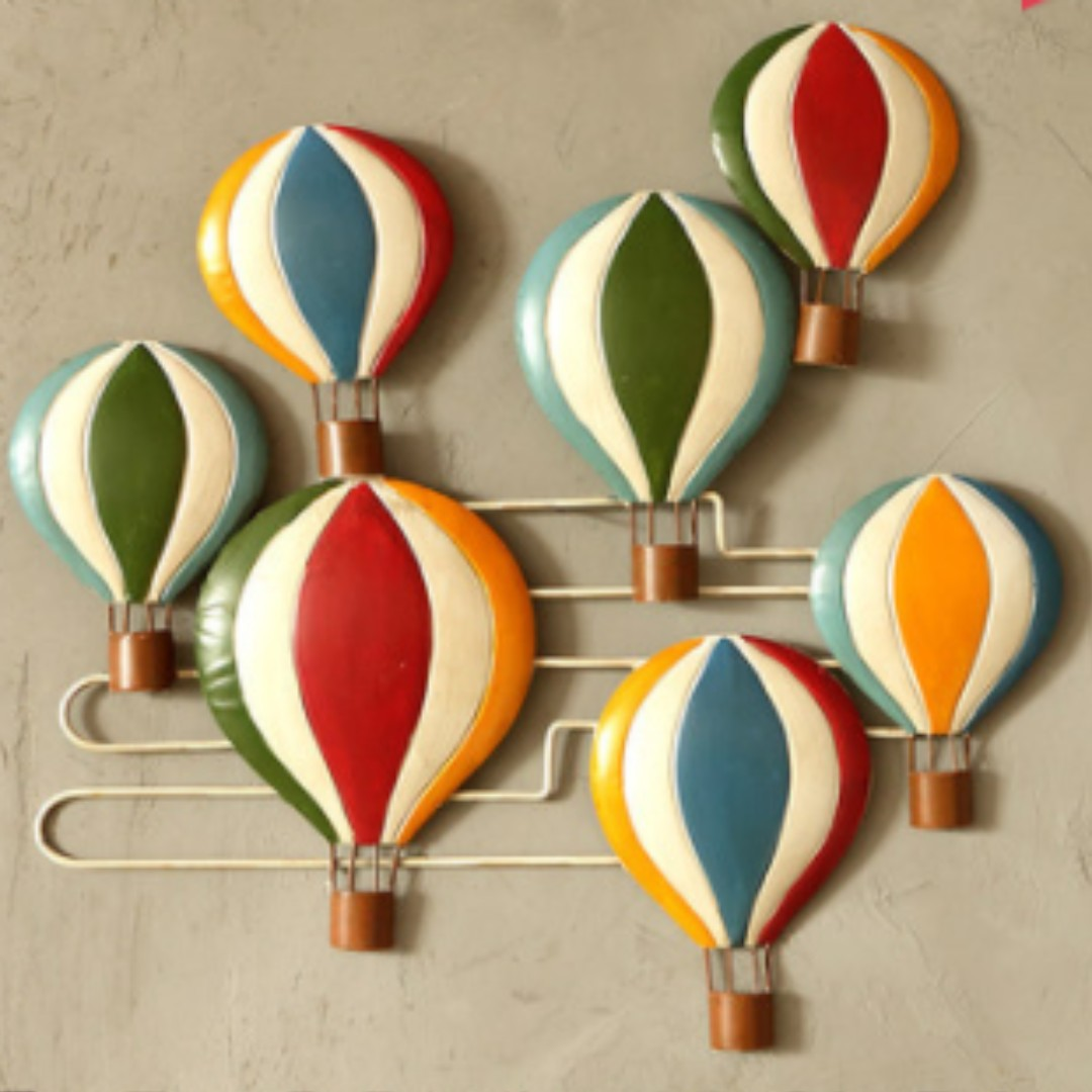 Hot Air Balloon Wall Decor Furniture Home Decor On Carousell