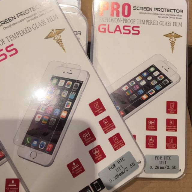 HTC U11鋼化玻璃保護貼