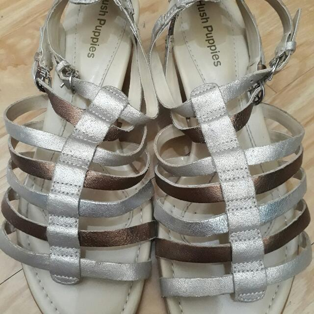 high quality new styles authentic quality Repriced!!!!!Hush Puppies Low Cut Gladiator Sandals 2toned on ...