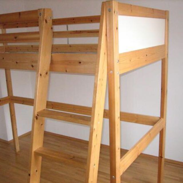 Ikea Vradal Loft Bed Furniture Beds Mattresses On Carousell