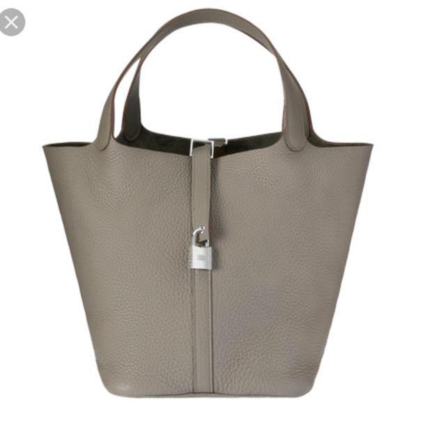 38398c1e2835 Inspired Hermes Picotin Bag In Medium