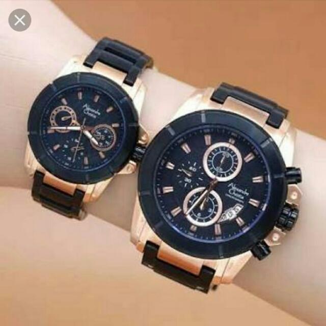 Jam tangan Alexandre Christie Couple Original ebb1e113e9