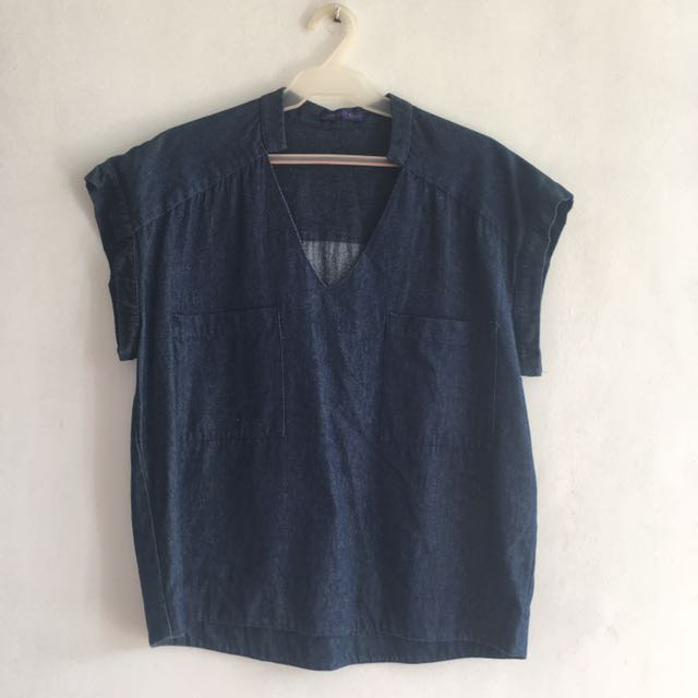 Jeans Type Blouse