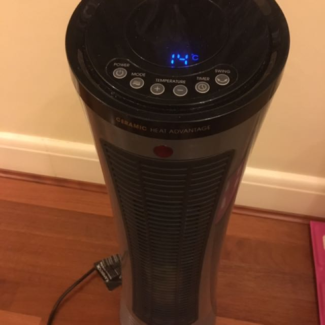 Kambrook Ceramic Tower Fan Heater