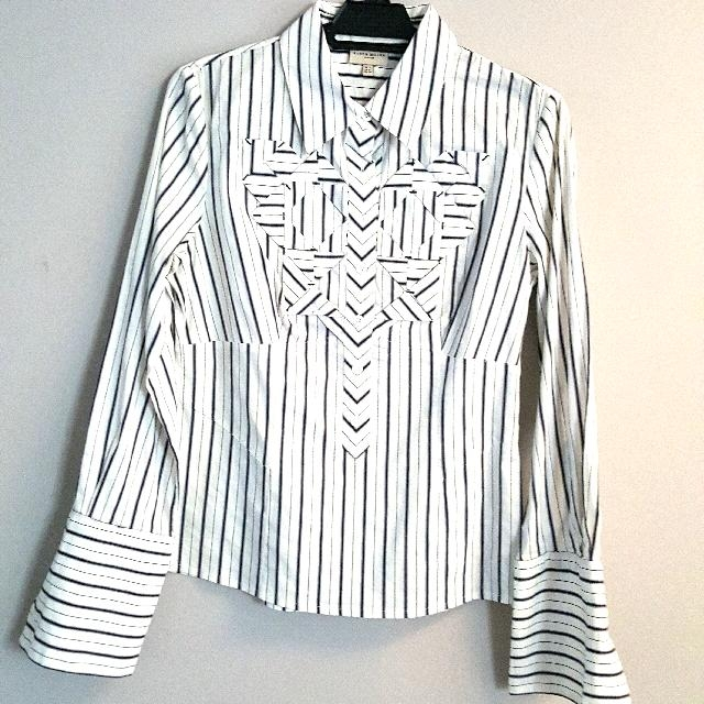Karen Millen Ladies Striped Shirt #Take5Off