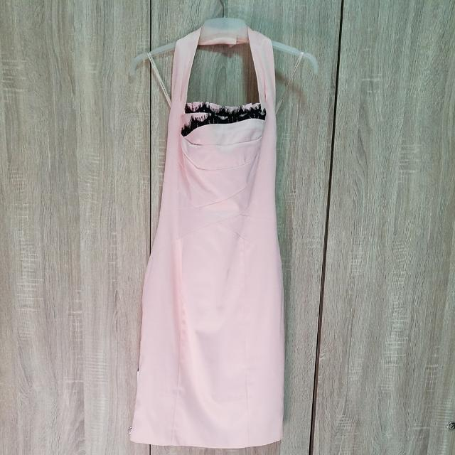 Karen Millen Pink Lace Dress Size Us 6, Uk 10, Eu 38