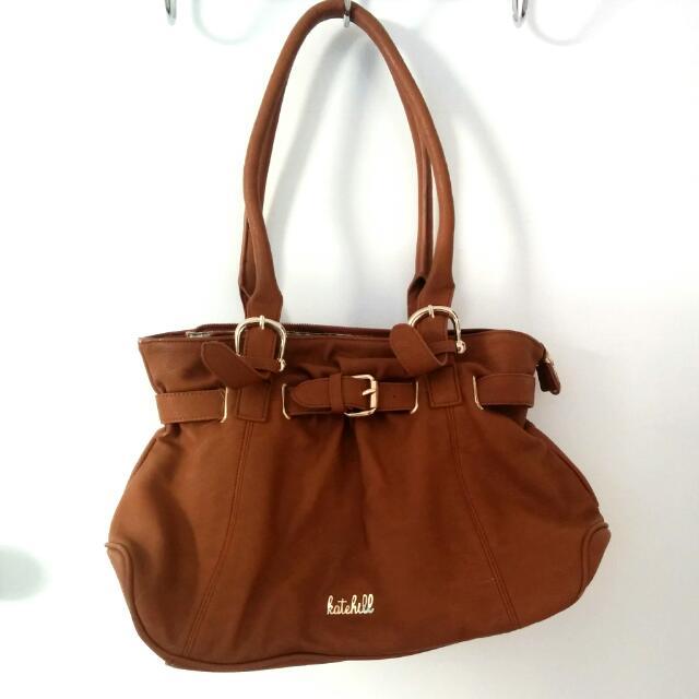 Kate Hill Brown Handbag