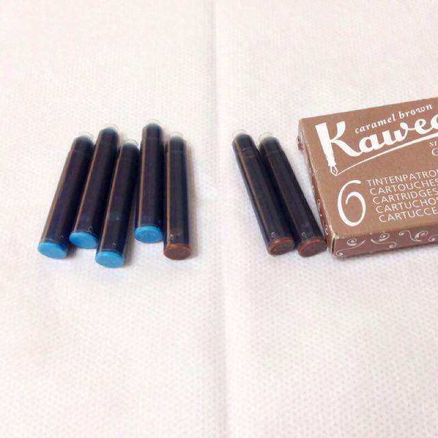 Kaweco 天堂藍/焦糖棕 鋼筆 卡水(單支)