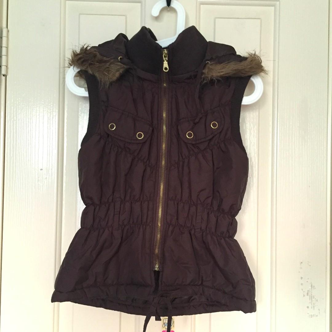 Kitty Kat vest, size 8-10