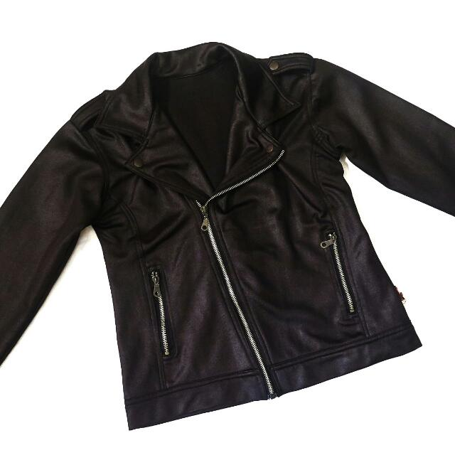 Leather Jacket Lookalike