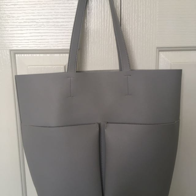 Leather Like Tote Bag