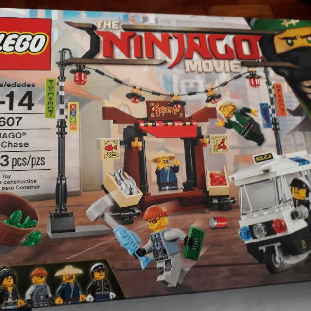 Lego Ninjago The Movie #70607