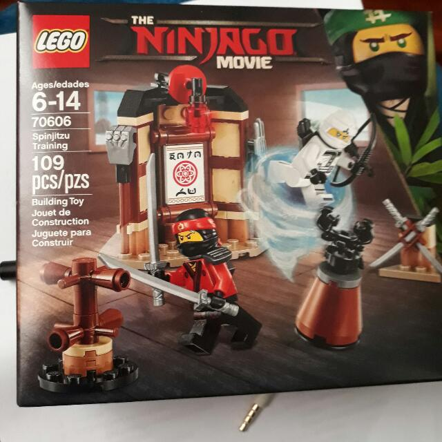 Lego Ninjago The Movie #70606