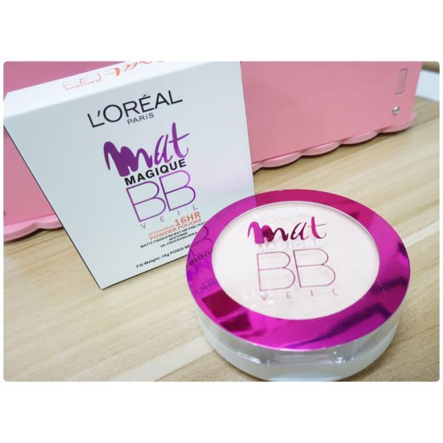 L'Oreal Paris Mat Magique BB Veil (N2 Nude Ochre)