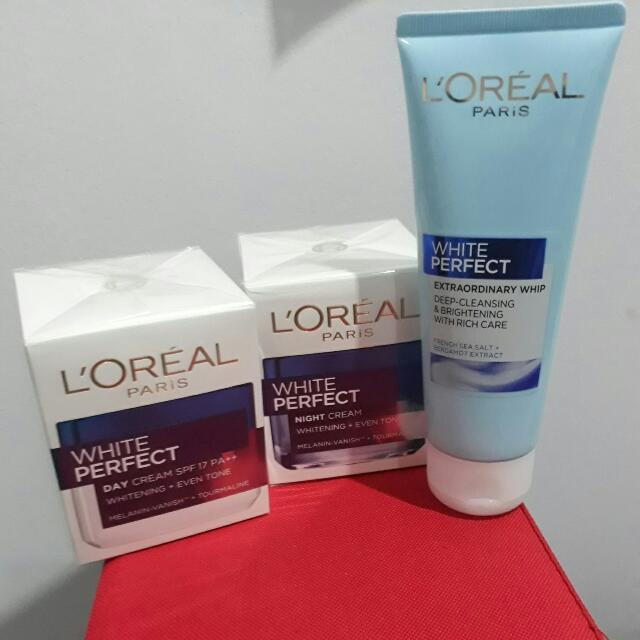 L'oreal White Perfect Series (New!!)