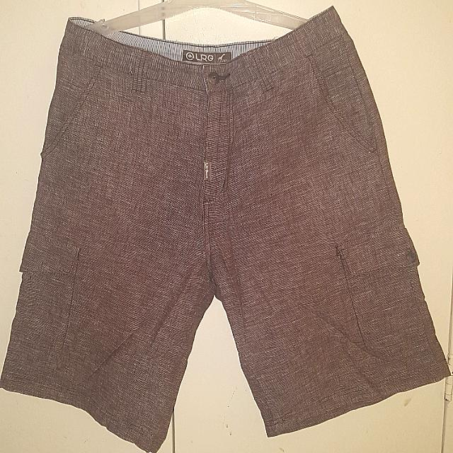 LRG Cargo Shorts for Men (Brown)