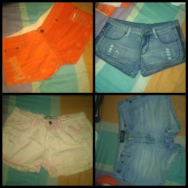 Maong Shorts 4 For 250