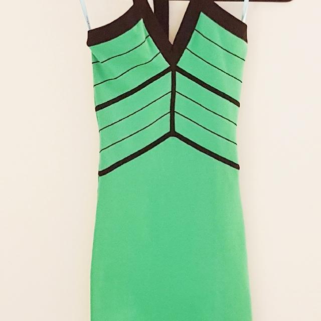 Marciano Green & Black Dress XS