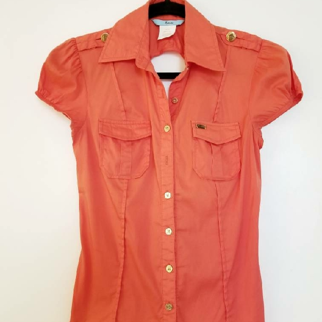 Marciano Orange Blouse XS
