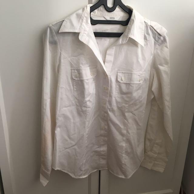 Marks & Spencer White Button Up