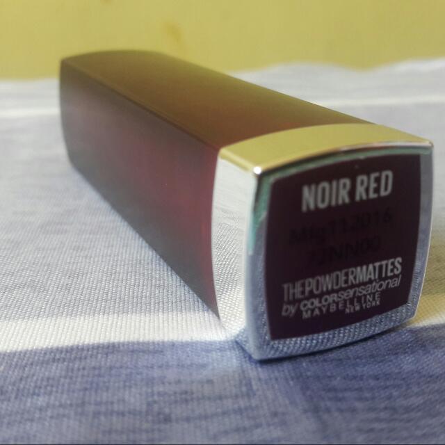 Maybelline Powder Matte Lipstick