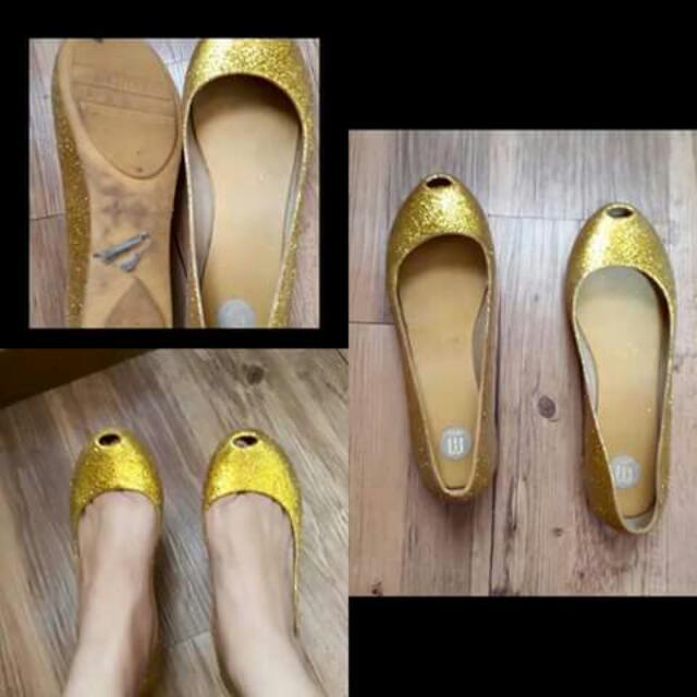 Melissa Ultragirl Gold Shoes