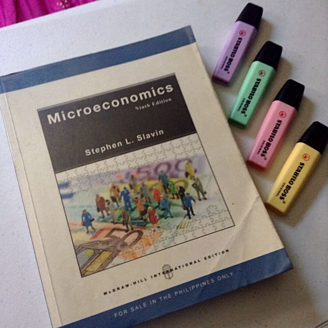 Microeconomics by Stephen L. Slavin