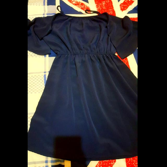 Mini Dress - Navy