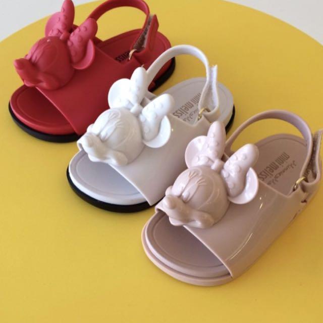 Mini Melissa Beach Slide X Minnie Mouse, Babies & Kids ...