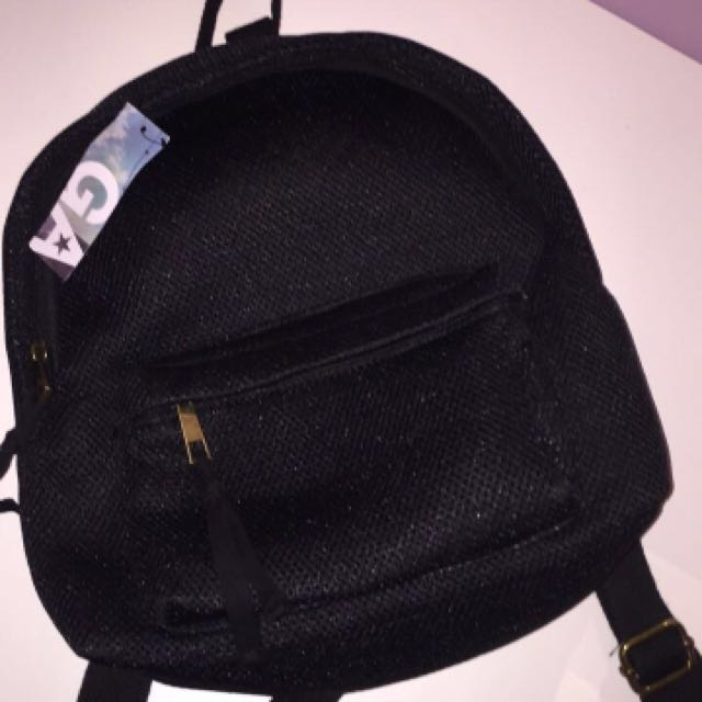 mini mesh backpack