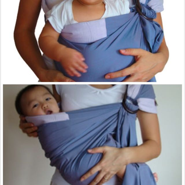4830131ac40 Moms In Mind Baby Sling  Sarong Carrier on Carousell