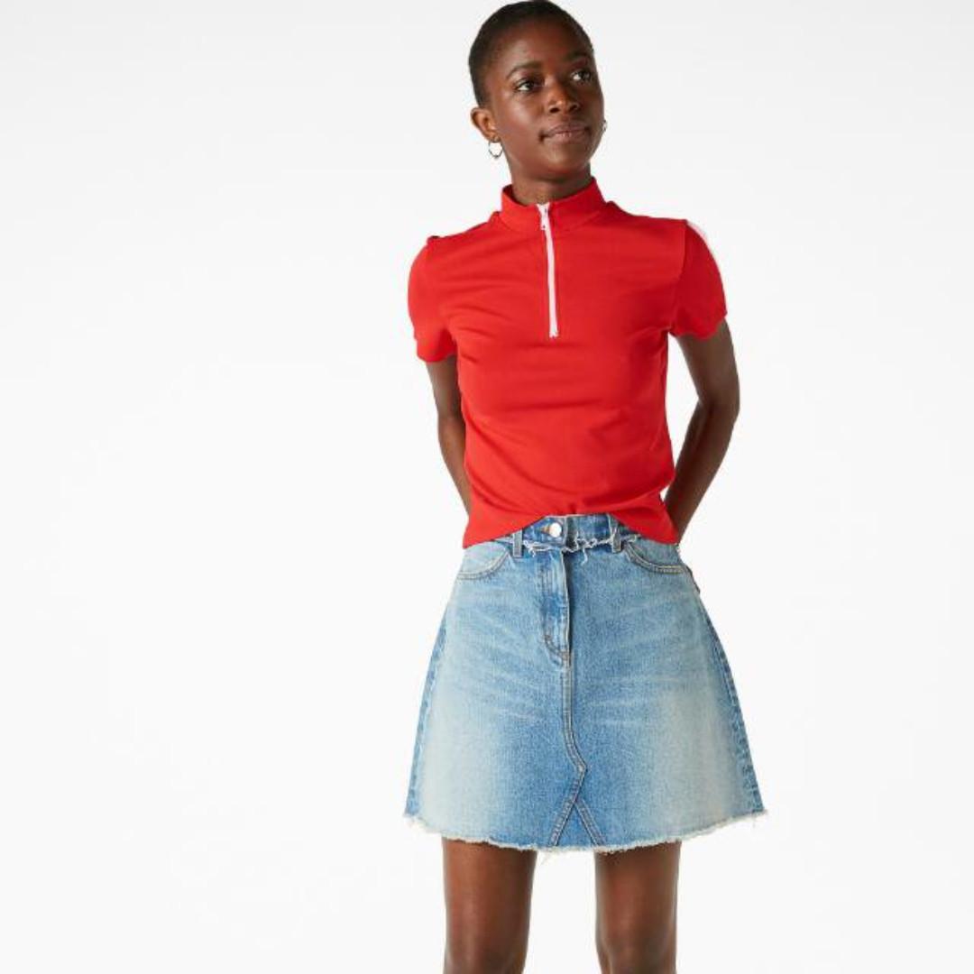 瑞典品牌 Monki 高領拉鏈上衣   H&m Zara