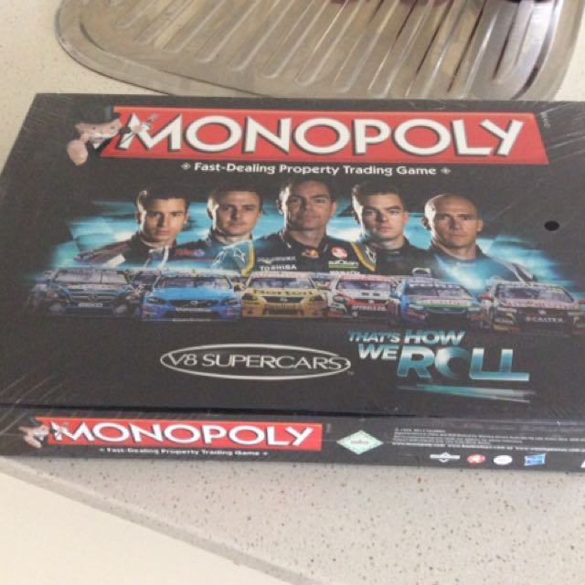 Monopoly V8 Supercars Edition