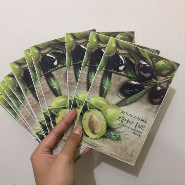 Nature Republic Olive Sheet Mask