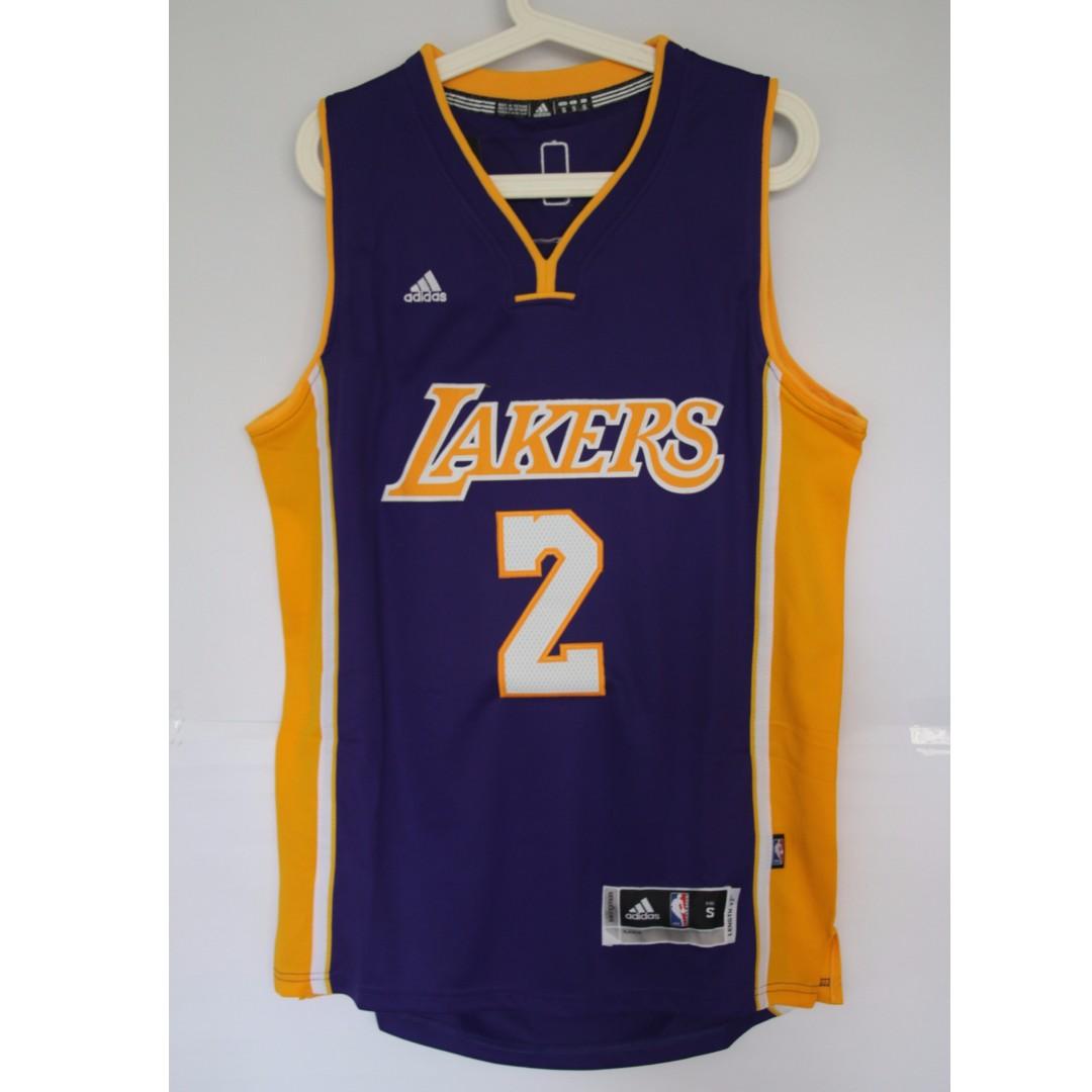 100% authentic 43902 65e08 NBA Swingman Jersey Lonzo Ball Los Angeles Lakers #2 Purple Jersey