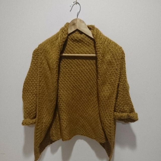 New Mustard Knit Cardigan