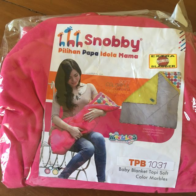 NEW!!!! Snooby Baby Selimut Tutup Kepala