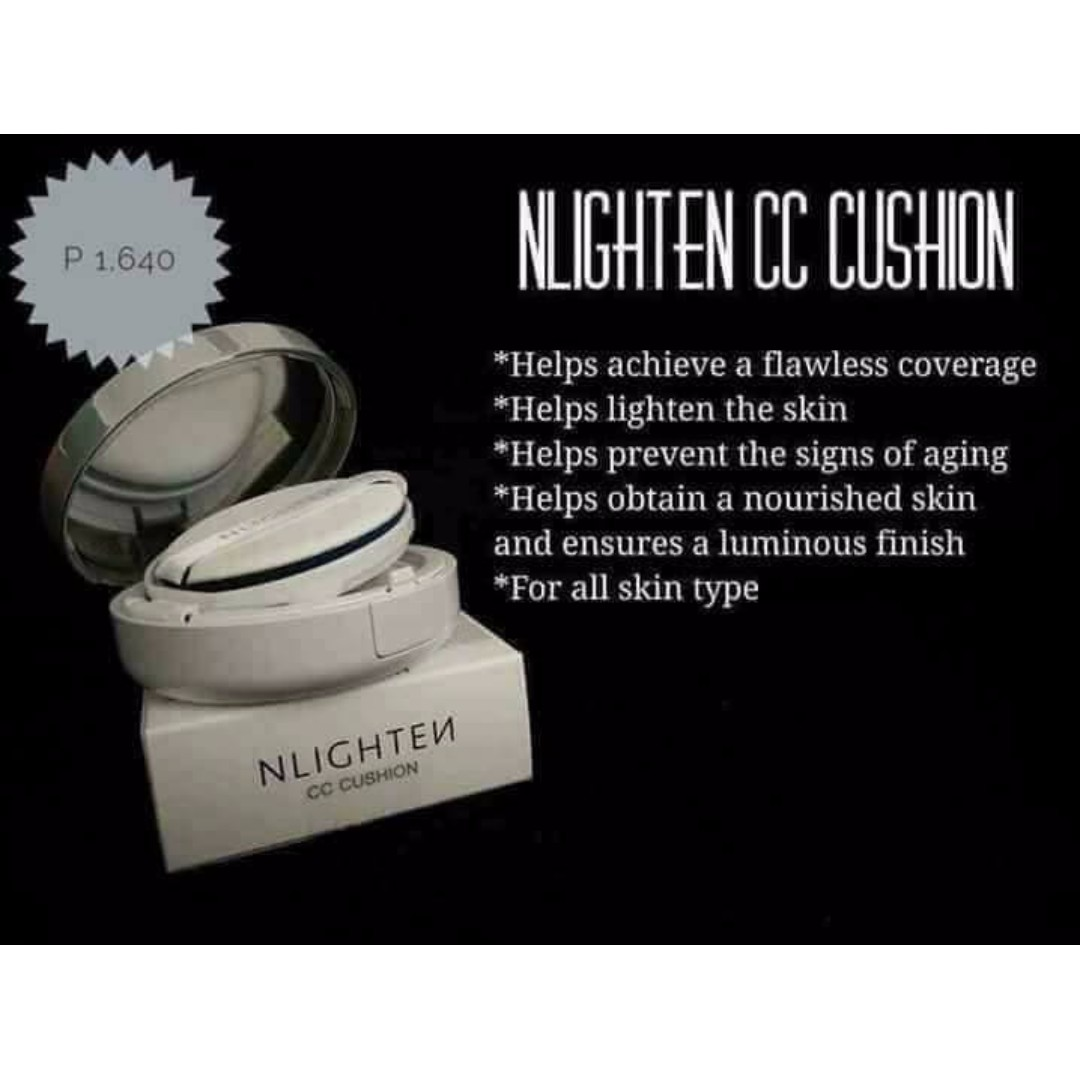 NLIGHTEN CC CUSHION ( Authentic)
