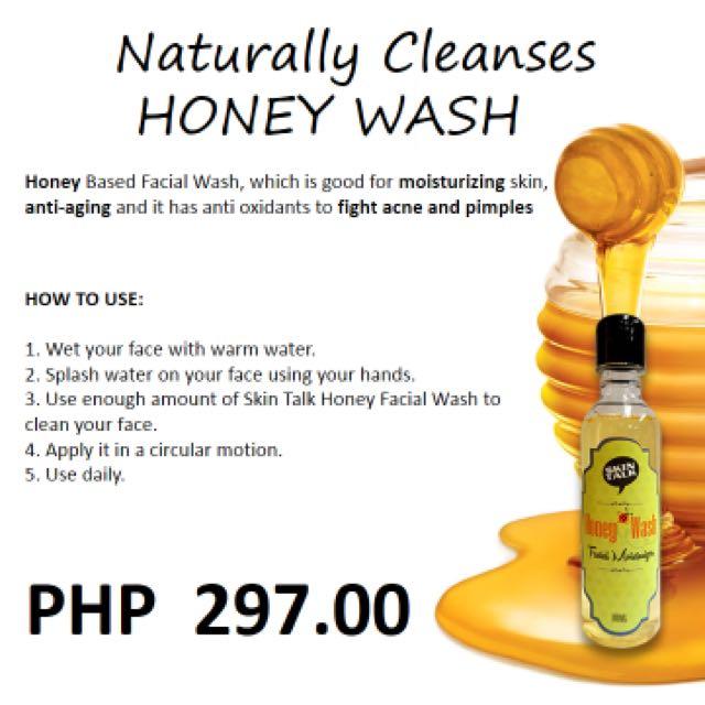 Organic Honey Wash