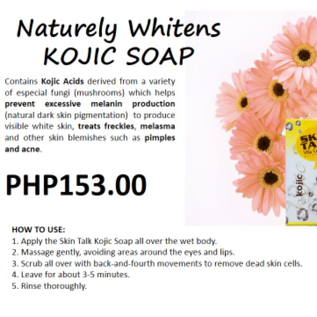 Organic Kojic Soap