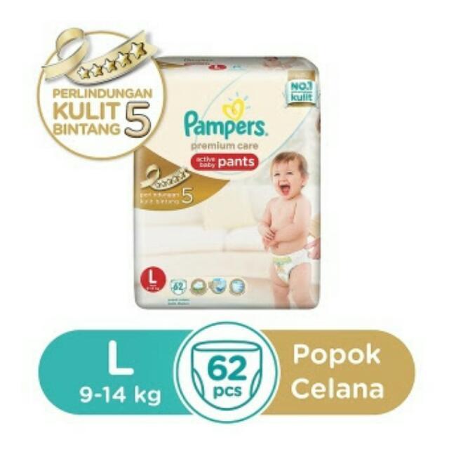 Pampers Premium L62