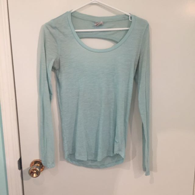 Pink - Mint Longsleeved Shirt
