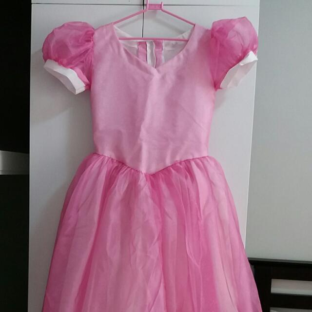 Pink Gown Dress for Kids Aged 5 to 7yo